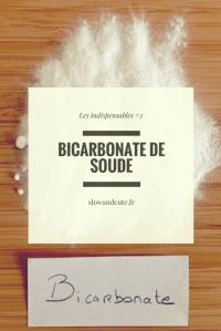 Les indispensables #2: Le bicarbonate de soude