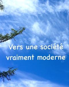 Vers une société plus moderne