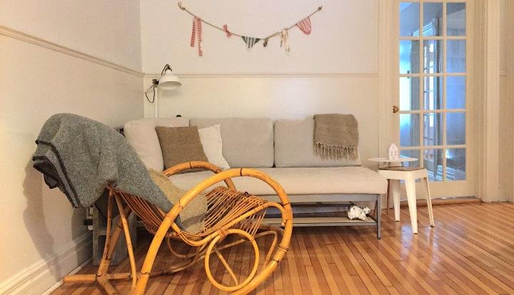 Mon salon/salle à manger slow et minimaliste