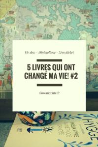 5 livres qui ont changé ma vie #2