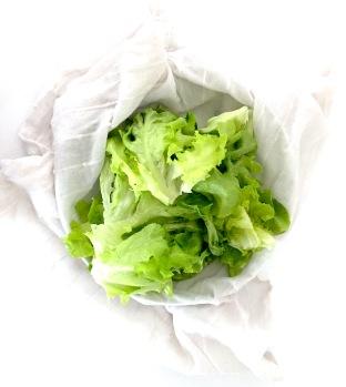 Égoutter la salade